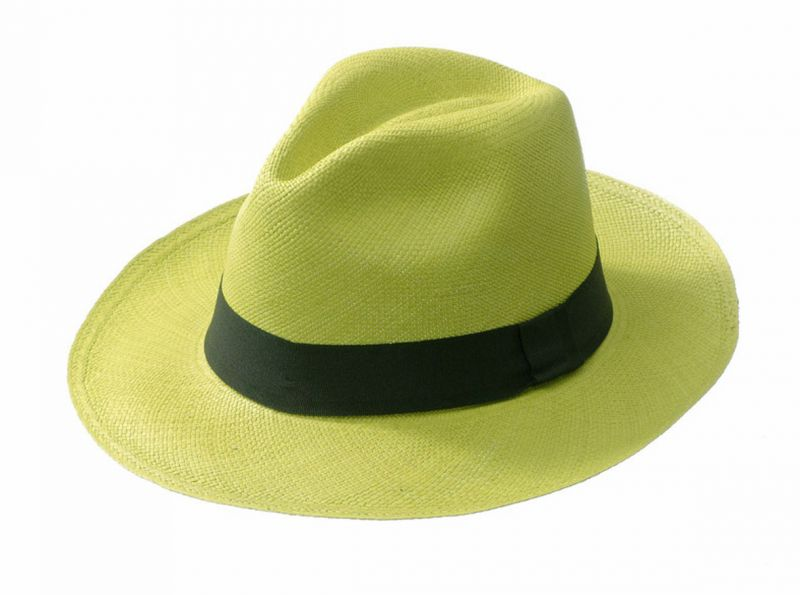 Panama Hat - CLASSIC Lemon